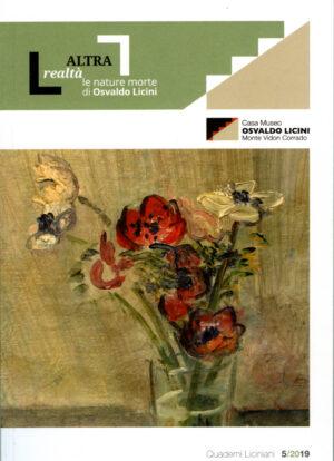 Copertina del libro L'altra realtà. Le nature morte di Osvaldo Licini a cura di Daniela Simoni