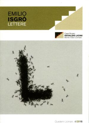 Copertina del libro Emilio Isgrò - Osvaldo Licini. Lettere di Giulia Crespi