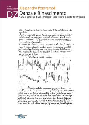 """Copertina del libro Danza e Rinascimento. Cultura coreica e """"buone maniere"""" nella società di corte del XV secolo di Alessandro Pontremoli"""