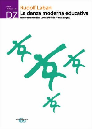 Copertina del libro La danza moderna educativa di Rudolf Laban