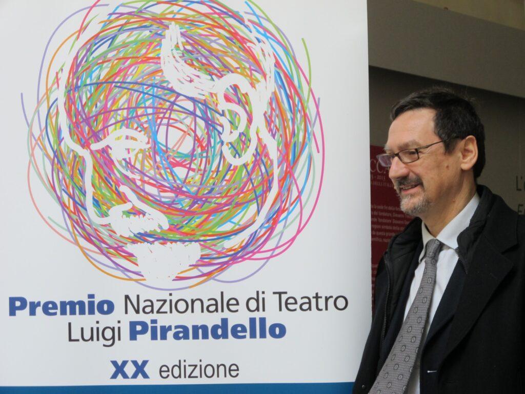 Foto di Alessandro Pontremoli al Premio Pirandello